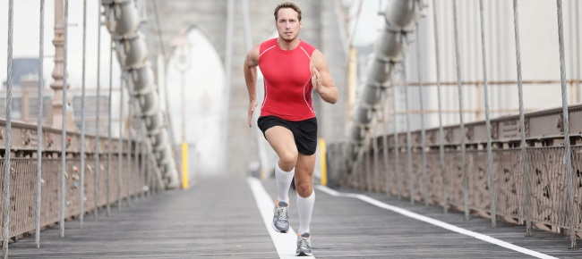 man-running-in-compression-stockings